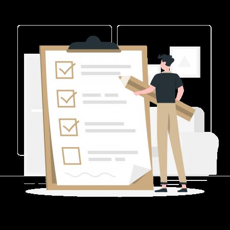 Illustratie checklist