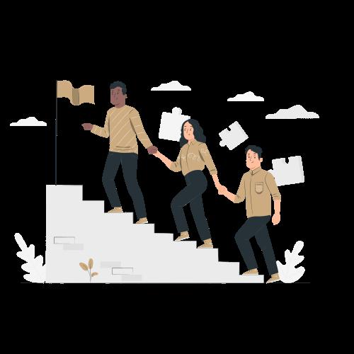 Illustratie teamwork